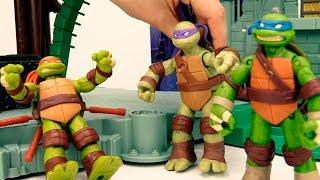 ToyClub шоу - Про игрушки Черепашки Ниндзя: ищем Рафаэля