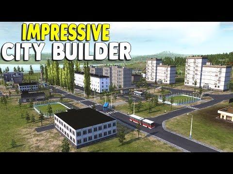 NEW REPUBLIC & CITY BUILDER   Part 1   Workers & Resources: Soviet Republic Gameplay