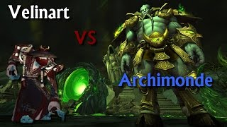 From Scratch vs Archimonde Mythic Sp PoV (World 4th)