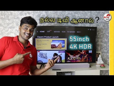MiTv 4X Pro (55'inch) Smart TV Review after 1 Month - சிறந்த டிவி ? | Tamil Tech