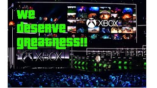 Die Hard Xbox fans deserve to see a great lineup of games at Xbox XO 2018.