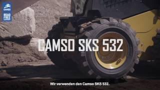 Camso SKS 532: Bauunternehmen findet den richtigen Reifen für seine Anforderungen