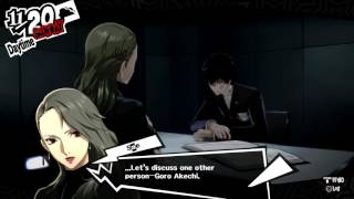 "Persona 5 - 11/20: Sae Interviews Joker ""Sold Out"" by Akechi F…"
