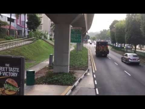 Singapore Road Design and Environment