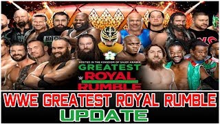 WWE GREATEST ROYAL RUMBLE UPDATE | Wrestling Entertainment Tamil