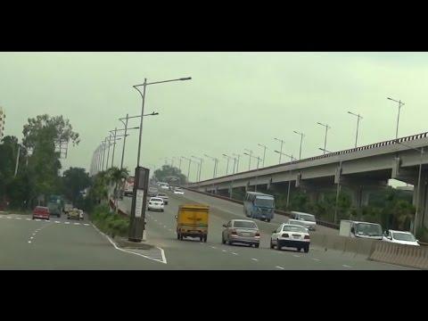 Dhaka City Drive 12 - Zillur Rahman Flyover Airport to Banani Gulshan - Bangladesh