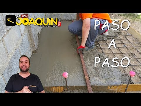 HOW TO MAKE A CONCRETE SLAB (For beginners)