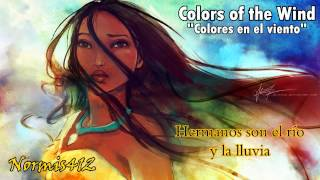 【C0l0rs of the Wind】Colores en el Viento【Pokah0ntas】Cover Latino Normis412