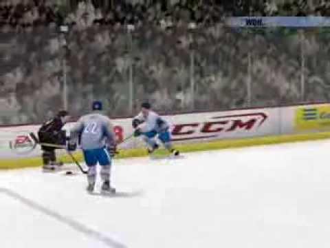NHL 08 (DEB Pokal Spiel.1 Adler Mannheim vs EV Duisburg)
