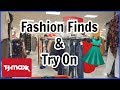 Come Shop With Me: TJMAXX CLOTHING HAUL and TRY ON!
