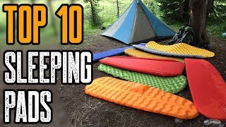 TOP 10 BEST SLËEPING PADS FOR CAMPING & BACKPACKING