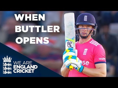 When Jos Buttler Opens The Batting... | England v Sri Lanka 2016 - Highlights