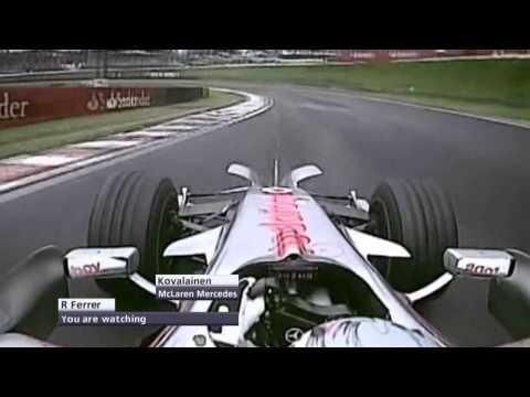 F1 Onboard Highlights | F1 2008 - R18 - Brazilian Grand Prix