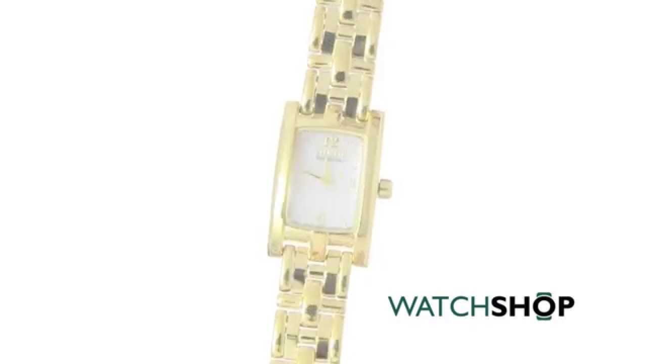 Citizen Ladies  Silhouette Eco-Drive Watch (EG2342-56D) - YouTube 7d2c4312e