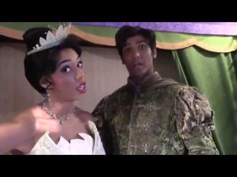 Meeting Princess Tiana & Naveen