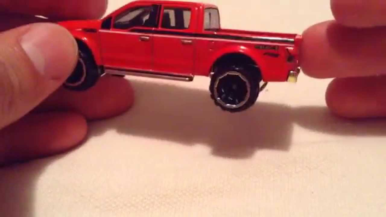 Hot Wheels '15 Ford F-150 (New Casting for 2015! Red Version)