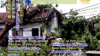 Whirlwind sweeps through north-central Au Lac (Vietnam)