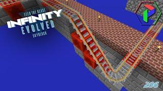 Mana Transportstrecke 🎓 FTB Infinity Evolved Skyblock #286