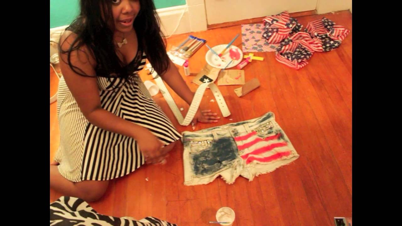 Cute 4th of july outfits for teenage girls how to make flag shorts