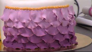 Como decorar pasteles con petalos - Hogar Tv  por Juan Gonzalo Angel