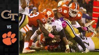 Georgia Tech vs. Clemson Football Highlights (2017)