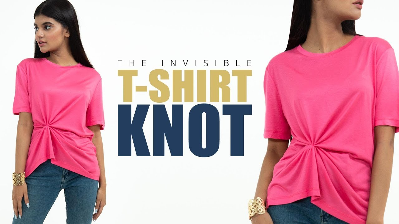 b27f0f5448 The Ultimate T-Shirt Knot