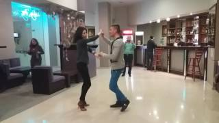 Бачата урок 4 | Bachata dance move 4