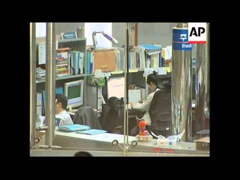 South Korean stocks opened slightly lower