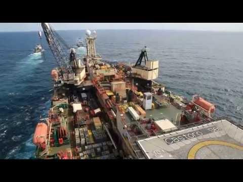 URANUS & MAGNUS - Towing Semi-Sub Pipelaying Vessel Castoro Sei