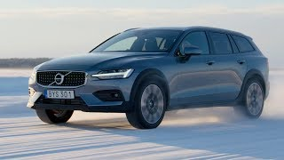 2019 Volvo V60 Cross Country – Ice Driving