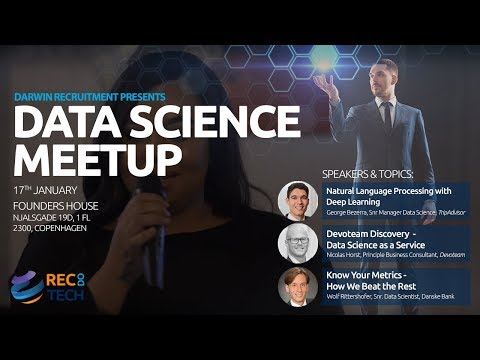 Data Science Meetup live from Copenhagen at Founders House