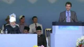 Jalsa Salana UK 2009 - Day 1: VIP Speeches (English) - Part 1