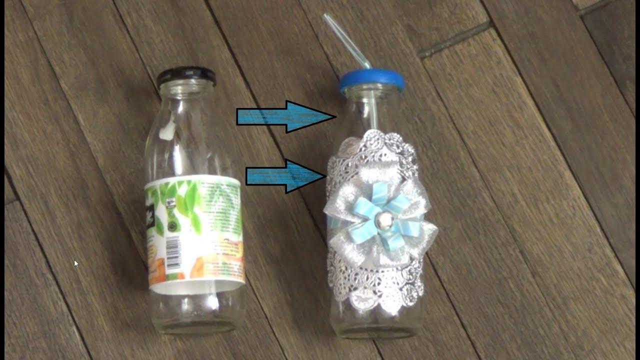 Recuerdos Reciclados Para Bautizo.Botellas Recicladas