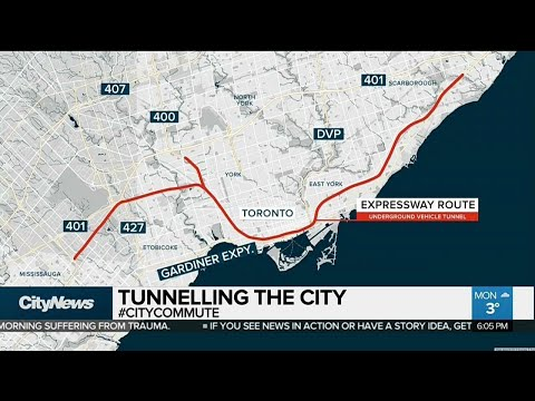 Is an underground toll highway coming to Toronto?