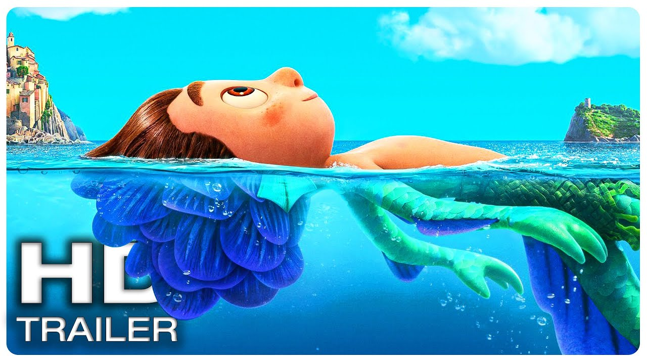 LUCA Official Trailer #1 (NEW 2021) Disney, Animated Movie HD