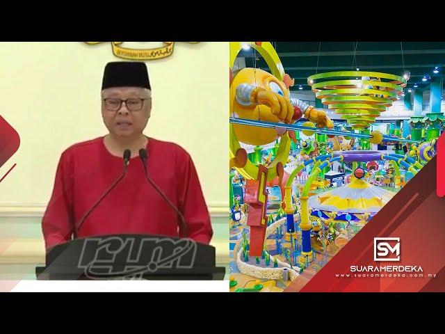 Pusat hiburan keluarga dibenarkan dibuka semula - Ismail Sabri