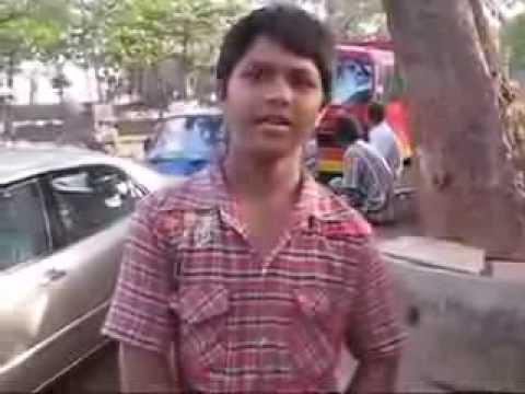 Amazing boy Ravi at Hanging Gardens of Mumbai