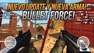 NUEVO PRÓXIMO UPDATE CON NUEVA ARMA Y MP5 CREDITOS BULLET FORCE ANDROID & IOS!!