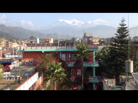 Hotels in Lakeside Pokhara with mountain view