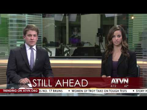 Kate Durocher Anchors Annenberg TV News Nightly Newscast