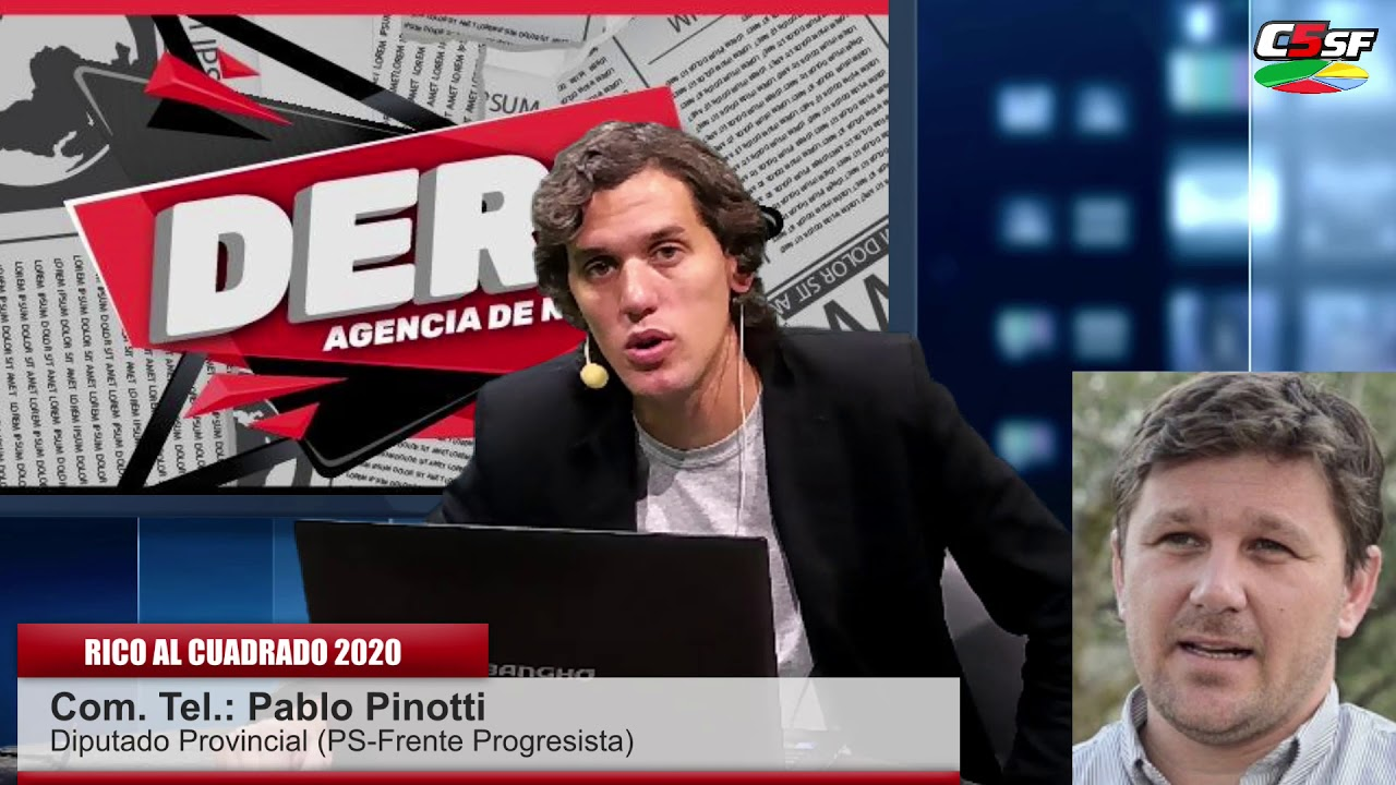 Pablo Pinotti - Diputado Provincial (PS - Frente Progresista) - RICO AL CUADRADO 2020
