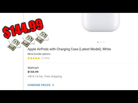 BUYING AIRPODS FROM WALMART!!!💸🤑💸🤑💸