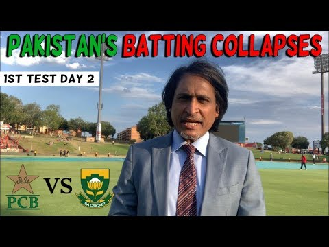 Pakistan's Batting Collapses | Pakistan Vs South Africa | 1st Test Day 2 | Ramiz Speaks