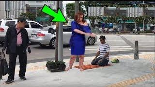 Yabancı Kadın Sokakta Namaz Kılan Bir Müslüman Gördü - Verdiği Tepkiye inanmayacaksınız.