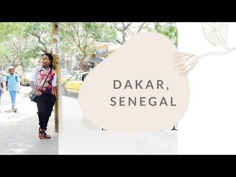 TRAVEL VLOG - DAKAR, SENEGAL FOR LEFABY2016