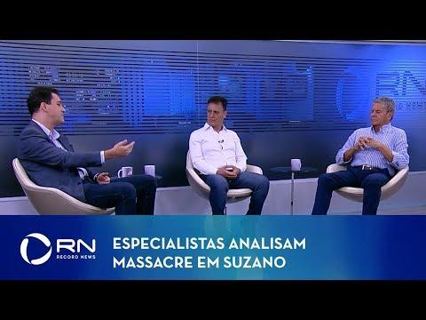 Jornal da Record News - Massacre em Suzano - 13/03/2019