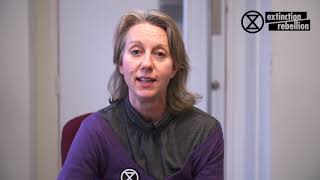 Gail Bradbrook - Invitation to the International Extinction Rebellion