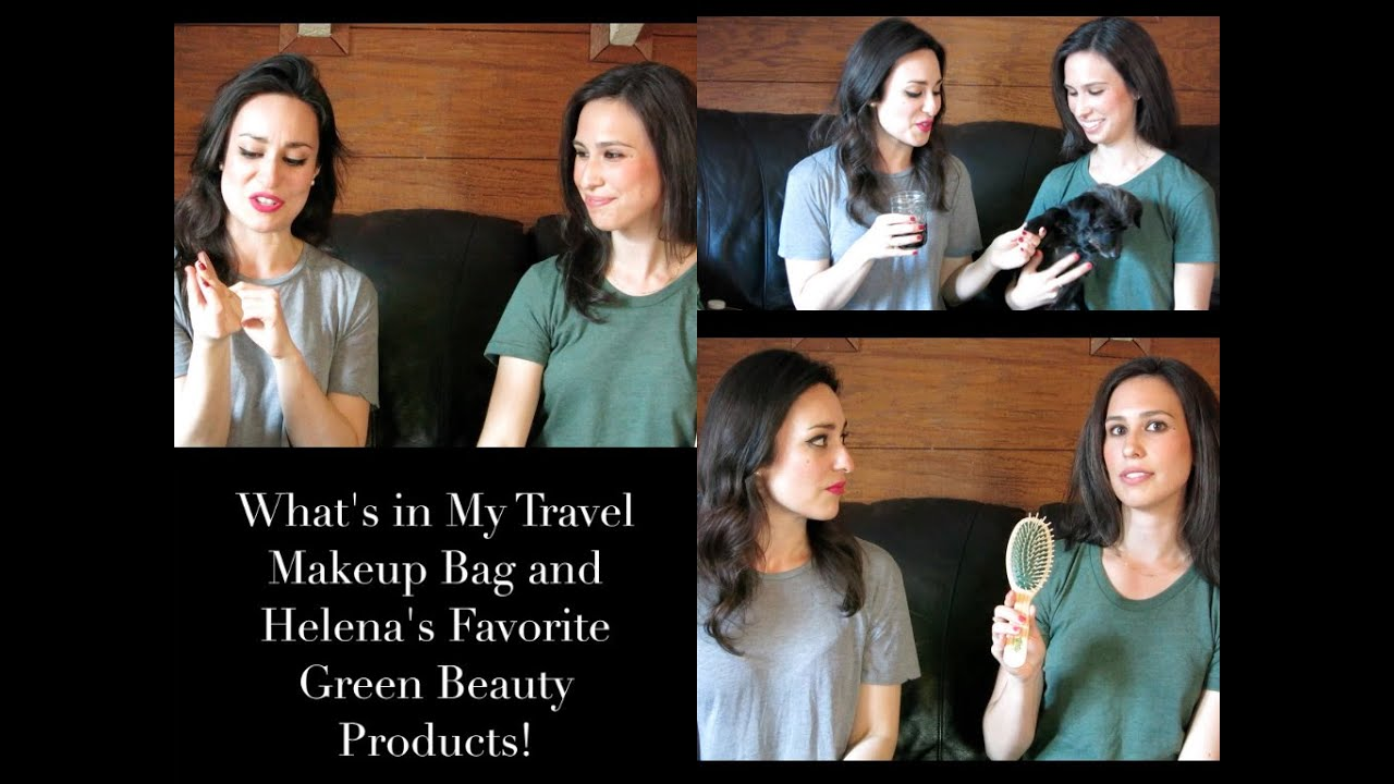 What's In My Travel Makeup Bag and Helena's Top Green Beauty Picks