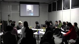 CSP1シンポジウム3_7「自分のつくったものが、他の文脈にたべられる事について」2013年11月30日(桑沢デザイン研究所1階)