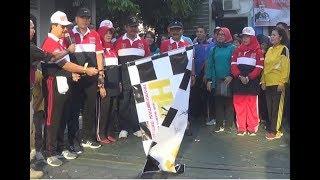 Semarak Jalan Santai Keluarga Besar Pengayoman dalam rangka HDKD 2019